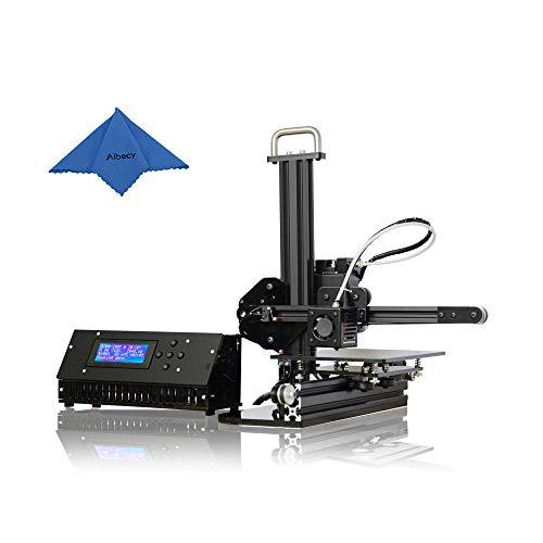 Aibecy tronxy desktop 3d printer diy kit struttura di profilo in alluminio bocchetta di alta precisione schermo lcd dimensioni edificio 150 x 150 x 150 mm funziona con pla