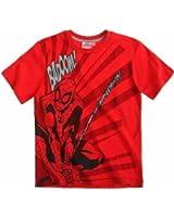 Spiderman T-Shirt Kurzarm in 3 Varianten und 4 Größen blau, rot und grau