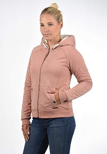 DESIRES Mandy Pile Damen Sweatshirt Pullover Pulli Mit Teddy-Futter, Größe:XS, Farbe:Powder Rose (P5178M) - 2