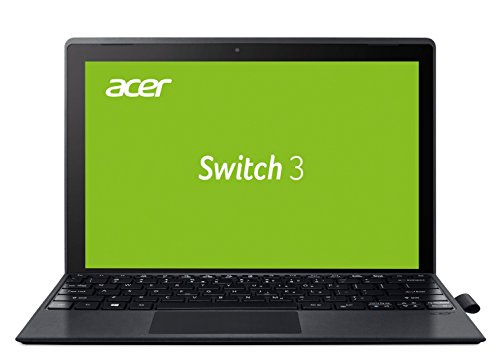 Acer Switch 3 SW312-31-P7SF 31 cm (12,2 Zoll Full-HD IPS Multi-Touch) Convertible Notebook (Intel Pentium N4200 Quad-Core, 4GB RAM, 64GB eMMC, Intel HD, Win 10 Home) grau