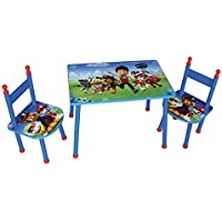 Unbekannt Fun House 712535Pat' Patrouille Set Tisch mit Zwei Stühlen für Kinder MDF Blau 60x 40x 44cm preisvergleich bei kinderzimmerdekopreise.eu