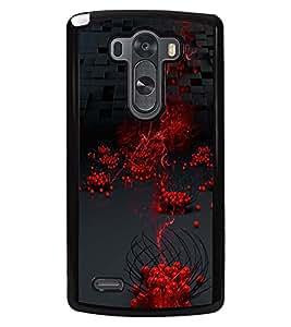 PRINTSWAG RED BALLS PATTERN Designer Back Cover Case for LG G3