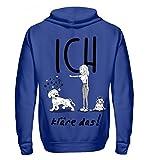 Shirtee Cocoloros Design; ICH kläre Das! - Unisex Kapuzenpullover Hoodie