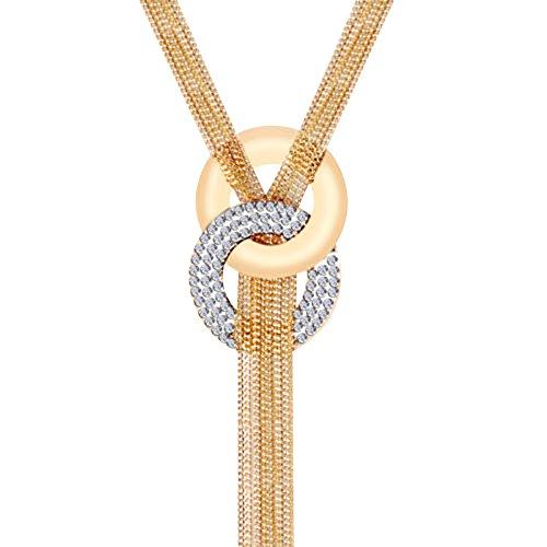 Contever® Mujeres Borla Collar Largo y Declaración de la Cadena Collar del Suéter Joyería