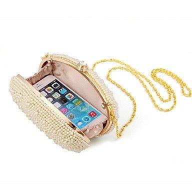 Women's Event/Party/Hochzeit/Abend Tasche Pearl empfindliche Handtasche Beige