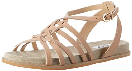 Clarks Damen Agean Art Slingback, Beige (Nude Leather), 38 EU