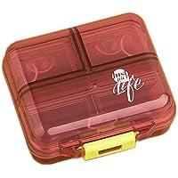 Pille-Kasten/Kasten-tragbarer Reisemedizin-Organisator für Medikation und Vitamin, großes Fach #8 preisvergleich bei billige-tabletten.eu