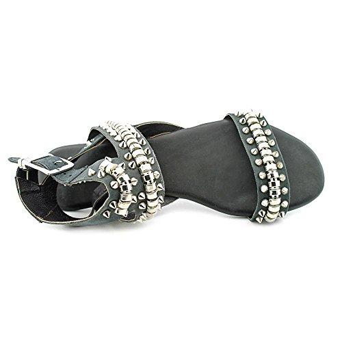 Matisse Elevate Femmes Cuir Sandales Gladiateur Black