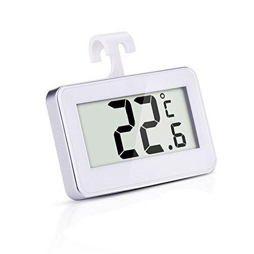STLSTT Mini-Kühlschrank-Thermometer - Digital Waterproof Freezer Zimmer-Thermometer mit...