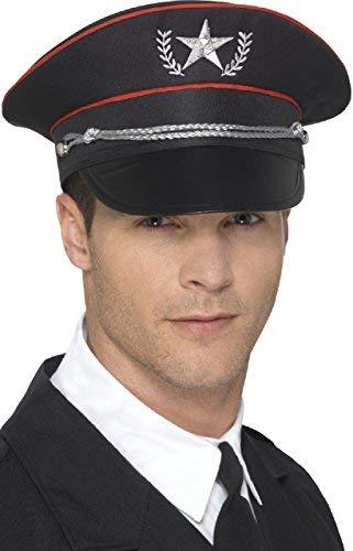 Fancy Me Herren Damen Deluxe Militär Streitkräfte Offizier Job Beruf Uniform Historisch Kostüm Kleid Outfit Zubehör Hut (Historische Kostüm Hüte)