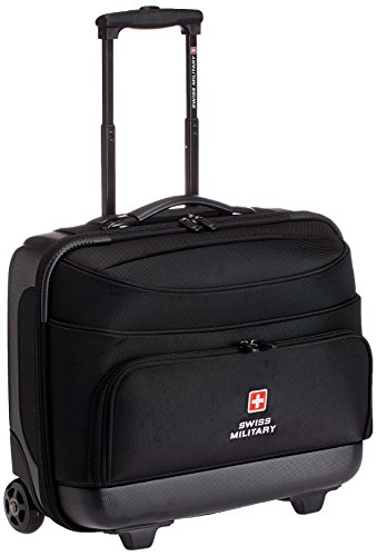 Swiss Military 45 Ltrs Black Laptop Trolley Bag (LTB-2)