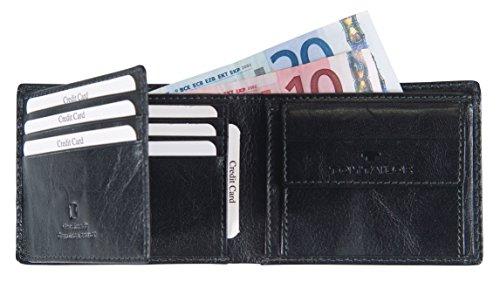 Tom Tailor Acc THEO 17300 Herren Geldbörsen 10x8x2 cm (B x H x T) Schwarz (schwarz 60)