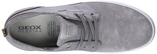Geox U Smart B, Sneakers Basses Homme Gris (Stone)