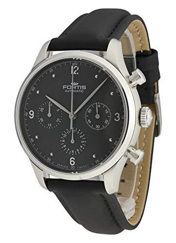 Fortis Terrestis 904.21.11 L10 - Reloj de Pulsera con cronógrafo de Tycoon PM clásico y Moderno