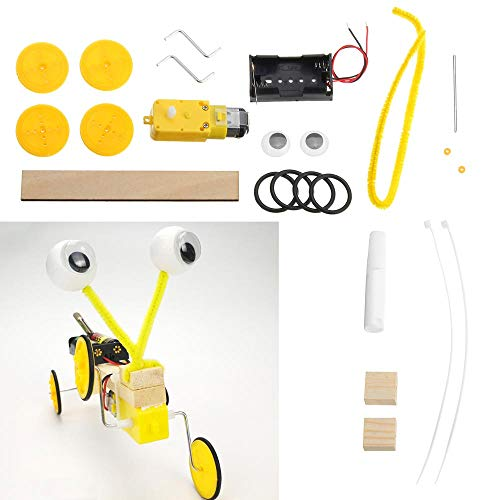 LaDicha DIY-BAU-Blocks Manuelles Elektro-Modell Reptilien Assembling Roboter Kit Elektronische DIY-Produktions-Kits -