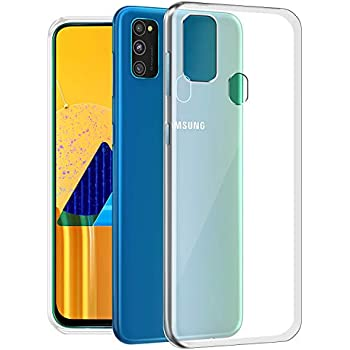 Fashionury Protective Mobile Cover (Soft & Flexible Back case) for Samsung Galaxy M30s (Transparent)