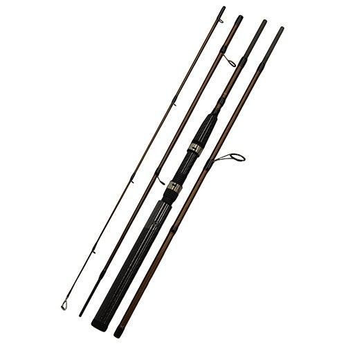 Okuma SST Graphite 3- & 4-teilige Reiseruten mit Cordura-Rutenrohr, Okuma's SST Graphite 3 & 4 Piece Travel Rods- SST-S-663L, braun, 6'6