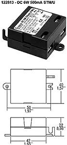 TCI 122813 Alimentation LED Driver DC 6 W 500 mA STM//U Courant continu