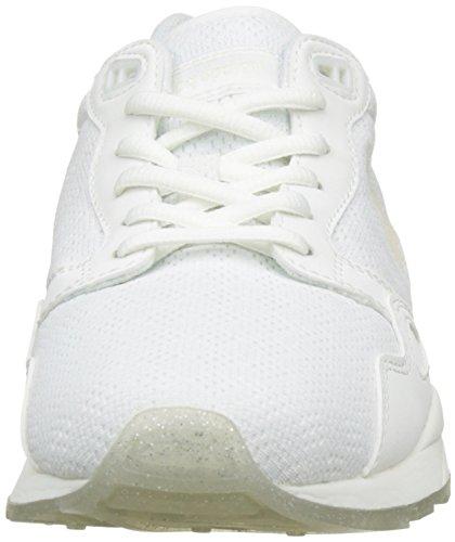 Le Coq Sportif Lcs R900 W Iridescent, Basses Femme Blanc (Optical White)