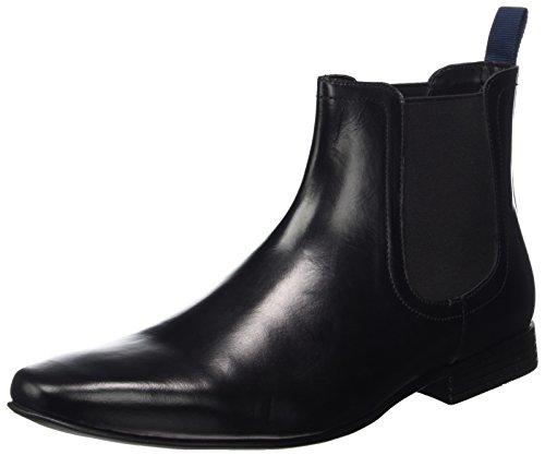 KG by Kurt Geiger Men's Kempston Chelsea Boots, Black (Black), 8 UK...