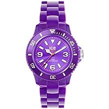 Orologio Ice Watch Donna SDPEU.P.12 Al quarzo (batteria) Resina Quandrante Viola Cinturino Plexiglass