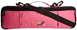 Tomandwill 33FCC Flute Case Cover - Hot Pink