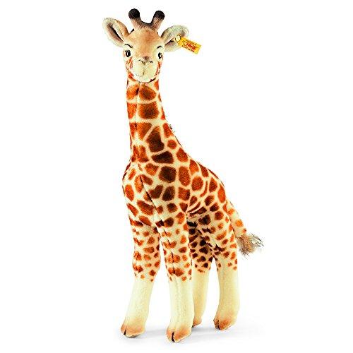 Steiff 068041 - Bendy Giraffe - stehend, Plüschtier, 45 cm, beige/braun (Giraffe Gefüllte Große)
