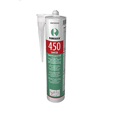 Ramsauer 450 Sanitär Silikon weiß 1K Dichtstoff 310ml Kartusche