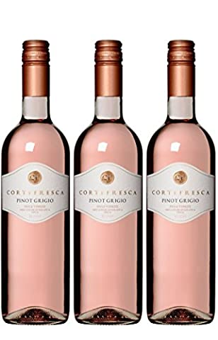 Cortefresca Veneto Pinot Grigio Rose 75 cl (Case of