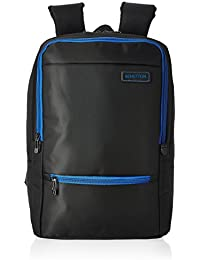 United Colors of Benetton 23 Ltrs Black Casual Backpack(17A6BKPK0L02I)