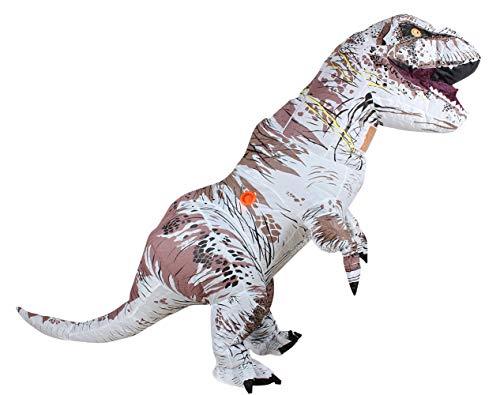 Air Dancer T-Rex aufblasbare Dinosaurier-Maskottchen-Partei-Kostüm-Abendkleid Cosplay Outfit Adult