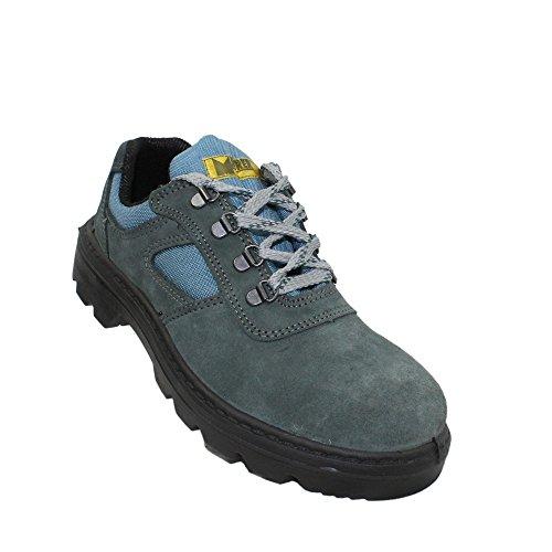 Maurer s1P chaussures de travail chaussures chaussures berufsschuhe businessschuhe plat bleu Bleu - Bleu