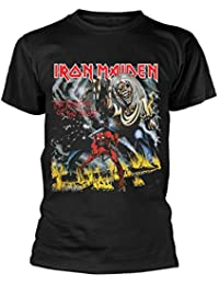 Iron Maiden The Number of The Beast (Negro) T-Shirt
