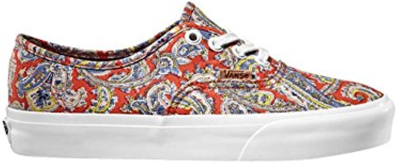 VANS VANS VANS Authentic  (Pailsey) Cayenne Scarpe di tela 4,5 us 36 eur scarpe | Eccellente  Qualità  | Uomo/Donna Scarpa  7508da