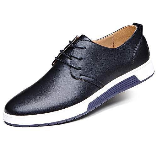 Leey Herren Freizeit Schuhe Schnürschuhe Trachten-schuhe aus Leder Business Anzugschuhe Atmungsaktiv Lederschuhe Oxford Halbschuhe Party Hochzeit Herrenschuhe Oder Anzug Schuhe
