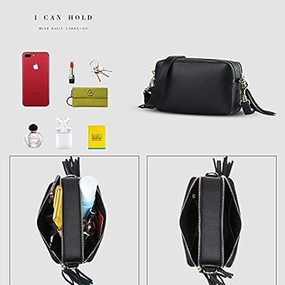 41DshN%2BVXEL. SS416  - Leathario Bolsos Hombro Bandolera Cuero Pequeño Vintage para Mujer Bolsa Moda Shoppers de Mano Totes Escolar Crossbody