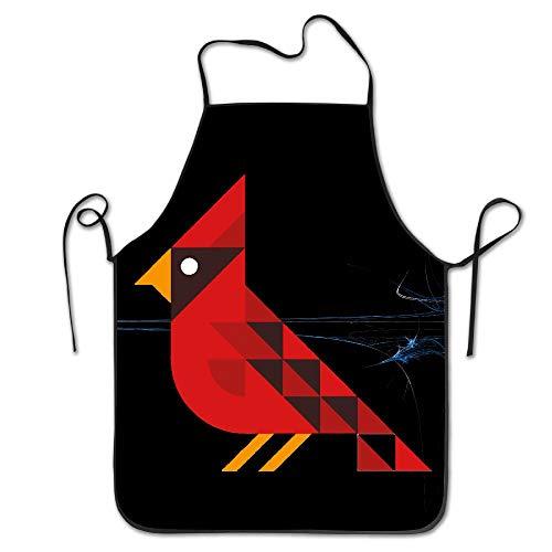 kslae Kardinal Vogel Küchenchef Kochen und Backen Lätzchen Schürze (Kardinal Vogel Kostüm)