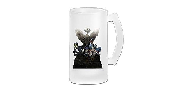 s//Beer Stein//Beer Tankard//Beer Glasses Tasses /à caf/é Acosoy Gorillaz Scrub Beer Mug