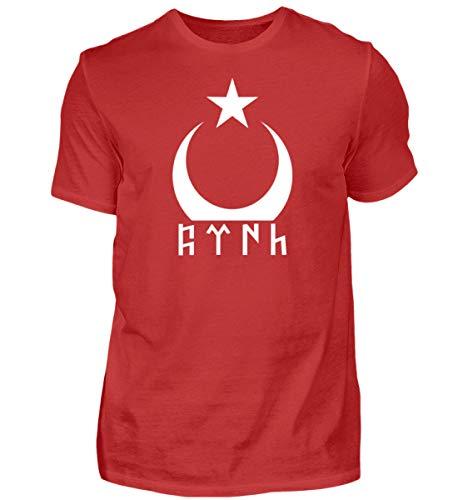 Türkei T-Shirt Göktürk Türkiye Shirt Türkische Flagge Ayyildiz Fahne Geschenk - Herren Premiumshirt