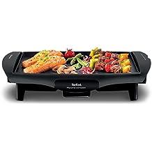 Tefal - CB 5005 - Ultra Compact, Piastra-barbecue Elettrica, 1800W, Piano Cottura 25 x 35 cm