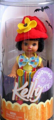 Barbie - Kelly - Halloween Party - Kelly AA Doll as a Clown - Mattel 2005 (Kelly Und Halloween Barbie)