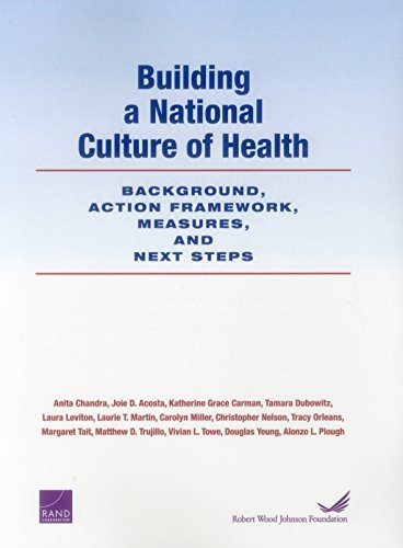 Building a National Culture of Health: Background, Action Framework, Measures, and Next Steps