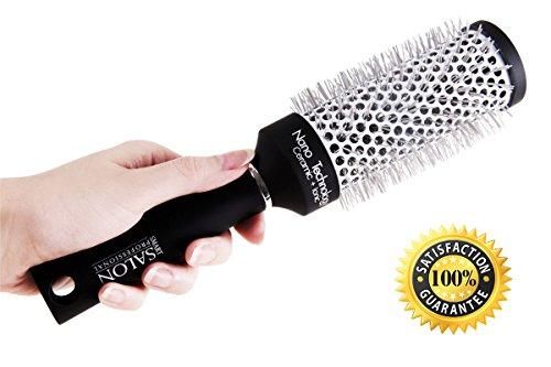 Smart Salon Professional Brosse à cheveux ronde pour brushing et lissage moyen modèle 45 mm Parfait pour les cheveux mi-longs et longs, pour le brushing et le lissage. Céramique et technologie nano. Satisfaction garantie.