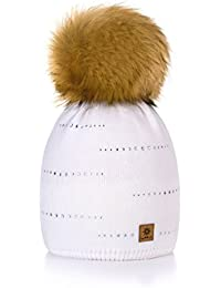 Amazon.es  gorros de lana con pompon - Ropa técnica   Ropa ... b4b9f7ebeafa