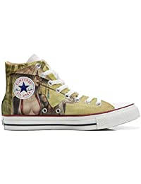 Converse All Star Customized, Sneaker Unisex, printed Italian style Geisha style