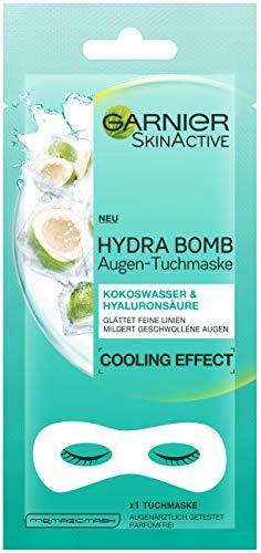 Garnier Augen-Tuchmaske Kokoswasser + Hyaluronsäurem, 5er Pack(5 x 1 Stück)
