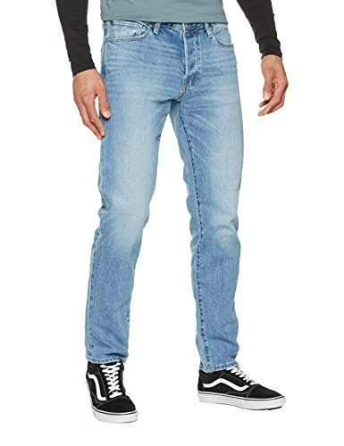 JACK & JONES Herren Loose Fit Jeans Jjimike Jjicon CR 002 Noos, Blau (Blue Denim Blue Denim), W32/L34 (Denim Loose Fit Jeans)