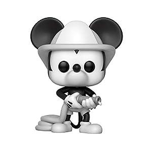 Funko Disney Pop Mickey Bombero, Color Mulitcolor (32185)