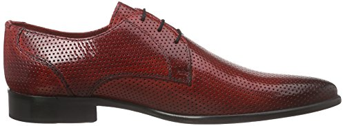 Melvin & Hamilton  Toni 1, Derby homme Rouge - Rot (Classic Perfo Red, LS)