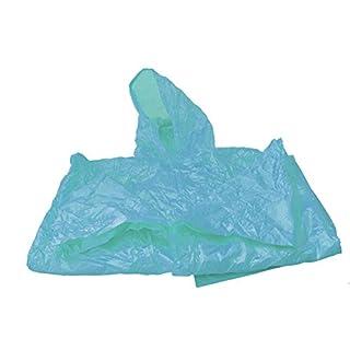 12 Ponchos de pluie avec capuche et couleurs différentes quantités all-around24 ® Bleu